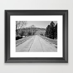 Long Road To Ruin Framed Art Print