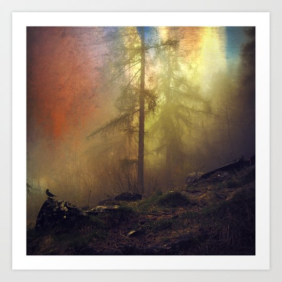 mystery and imagination Art Print