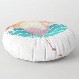 Pinky Flamingo Floor Pillow