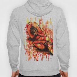 Fight For Your Rights - Erotic Art Sex Sexual Nude Figurative Hoody