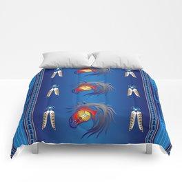 Crazy Horse Comforters