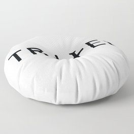 Travel and enjoy Floor Pillow