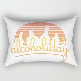 Alcoholiday Rectangular Pillow