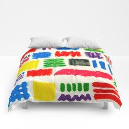 Dribble Scribble Comforters