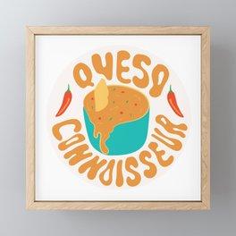 Queso Connoisseur Framed Mini Art Print