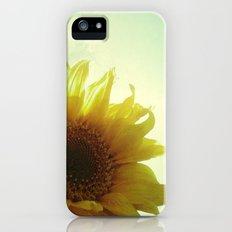 Sunflower iPhone (5, 5s) Slim Case