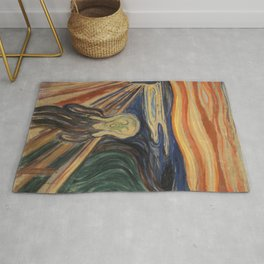 Edward Munch / The Scream Rug