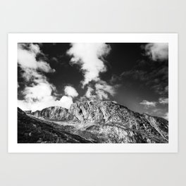 Peaks IV Art Print