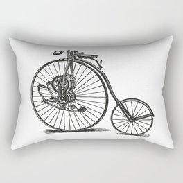 Old bicycle Rectangular Pillow