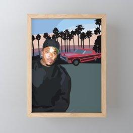 Dr. Dre Framed Mini Art Print