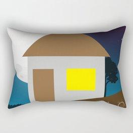 Dark Night in Home Rectangular Pillow