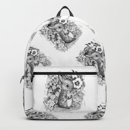 a hare Backpack