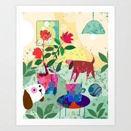 Sweet Trouble Art Print