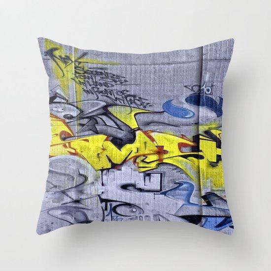 Wall-Art 001 Throw Pillow