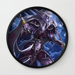 Fighting for her people Wall Clock