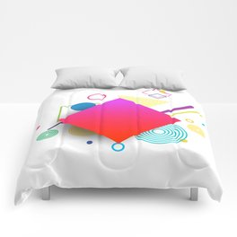 Displaced Geometry Comforters