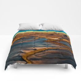 Earth in Full Color Comforters