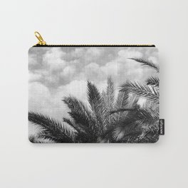 Vintage Tropical Island Hawaiian Palm Trees in Clouds Carry-All Pouch