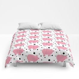 Here Piggy Piggy Comforters