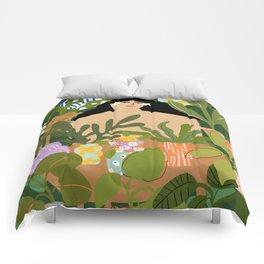 I Need More Plants Comforters