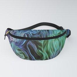 Turquoise Of Pastel Fanny Pack