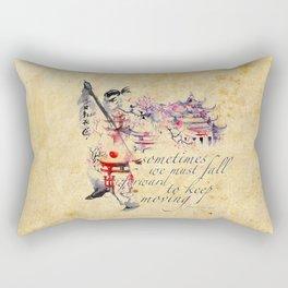Fall Forward Rectangular Pillow