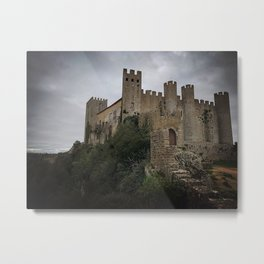 Castle of Obidos, Portugal Metal Print