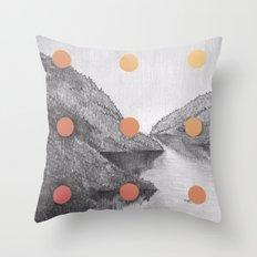 A Slow Fade Throw Pillow