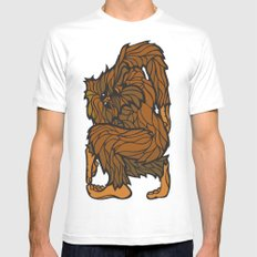 Squatch Mens Fitted Tee MEDIUM White