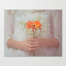 Delicate touch Canvas Print