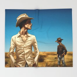 Dayvan Cowboy Throw Blanket