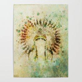 BOHO Headdress Poster