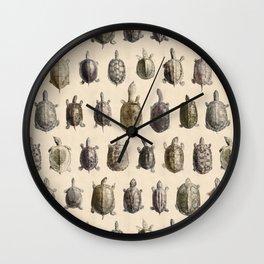 Vintage Turtles Pattern Wall Clock