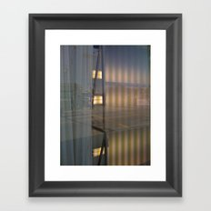 Curtains Framed Art Print