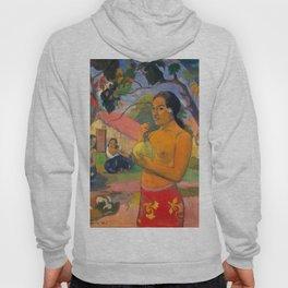 "Paul Gauguin ""Eu Haere Ia Oe (Woman Holding a Fruit. Where are You Going)"" Hoody"