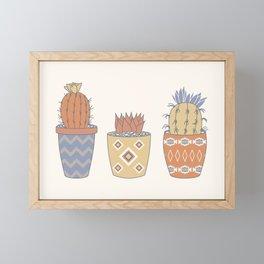 Prickly Pear (Vista) Framed Mini Art Print
