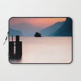 Lake Walen Sunset Laptop Sleeve