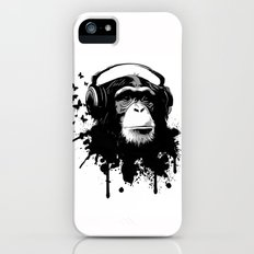 Monkey Business - White iPhone (5, 5s) Slim Case