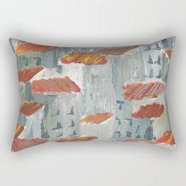 toits rouges Rectangular Pillow