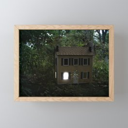 I'll Leave a Light On For You Framed Mini Art Print