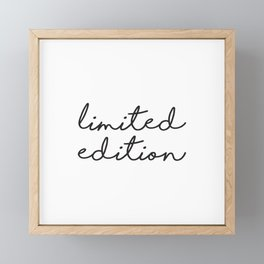Apartment Prints, Limited Edition, Words Art, Print 16 x 20, Apartment Poster, Wall Hanging Framed Mini Art Print