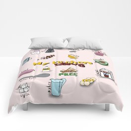 My kitchen story Comforters
