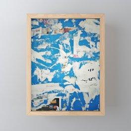 Ads board Framed Mini Art Print
