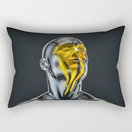 Love is the Only Gold Rectangular Pillow
