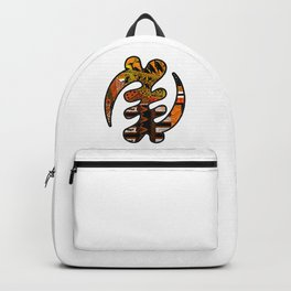 Gye Nyame Black and Gold Backpack