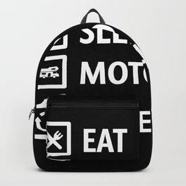 Eat Sleep Motorhome, Repeat Camping Gift Backpack
