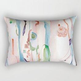 It Appeared Overnight Rectangular Pillow