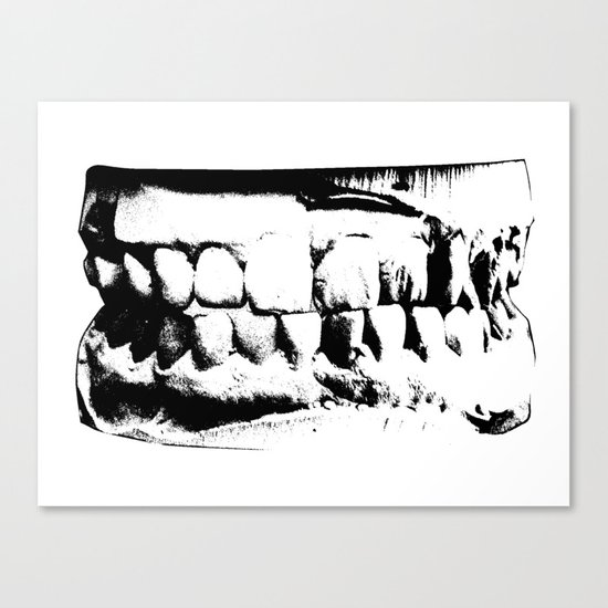 Wicked Smile Canvas Print