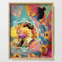 Kaleidoscope Dreams  Serving Tray