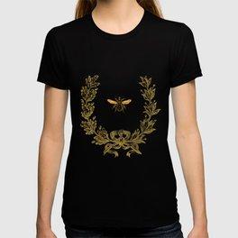 French Bee acorn wreath T-shirt